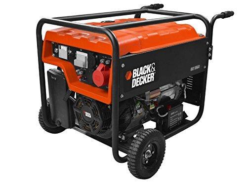Groupe électrogène Black + Decker B+D 5500