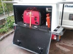 Le choix d'un groupe électrogène pour camping-car